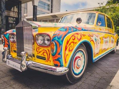 """El Rolls-Royce de John Lennon, cuarto invitado a la reunión """"Los Ocho Grandes Phantom"""""""