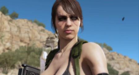 Quiet muestra sus habilidades en nuevo vídeo de Metal Gear Solid V: The Phantom Pain