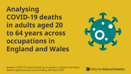 Son los hombres en ocupaciones mal pagadas los que tienen mayor riesgo de morir por COVID-19 en Reino Unido, no los sanitarios