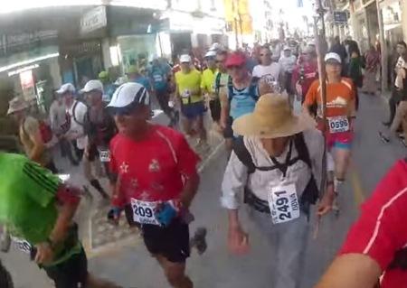 Super Paco, terminando ultramaratones a sus más de 70 años