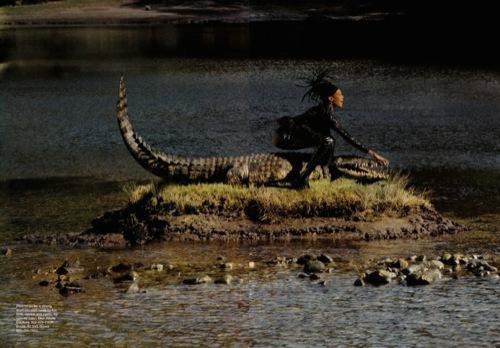 Foto de El verdadero print animal, editorial con Naomi Campbell en África (3/4)