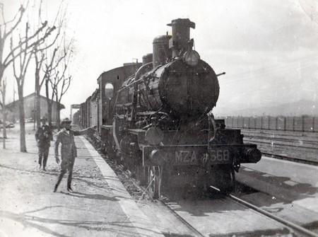 Locomotora de la Compañía de los Ferrocarriles de Madrid a Zaragoza y Alicante