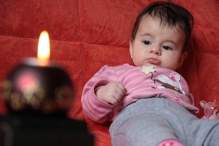 La foto de tu bebé: Daria desea Feliz Navidad