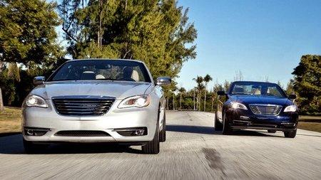 2011 Chrysler 200 Convertible, las fotos oficiales