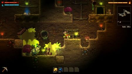 SteamWorld Dig se pica con Xbox One