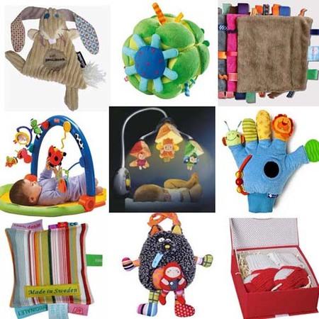 Guía de regalos de Navidad: bebés de 0 a 6 meses