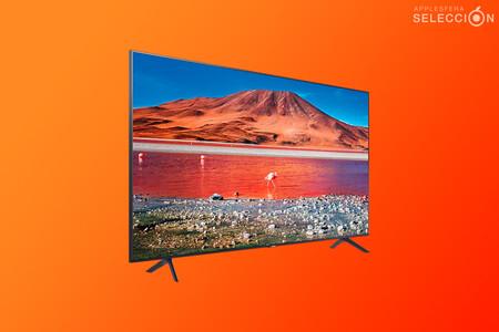 """Pantallón de 75"""" por 699 euros: la Smart TV 4K Samsung Crystal 75TU7125 con AirPlay 2 a precio de escándalo en MediaMarkt"""