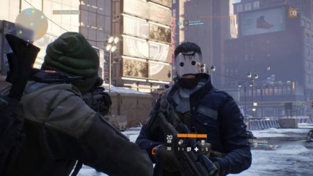 The Division Easter Egg Face Glitch