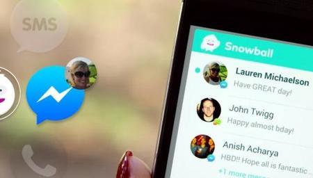 Snowball todas tus aplicaciones de mensajería en un solo lugar