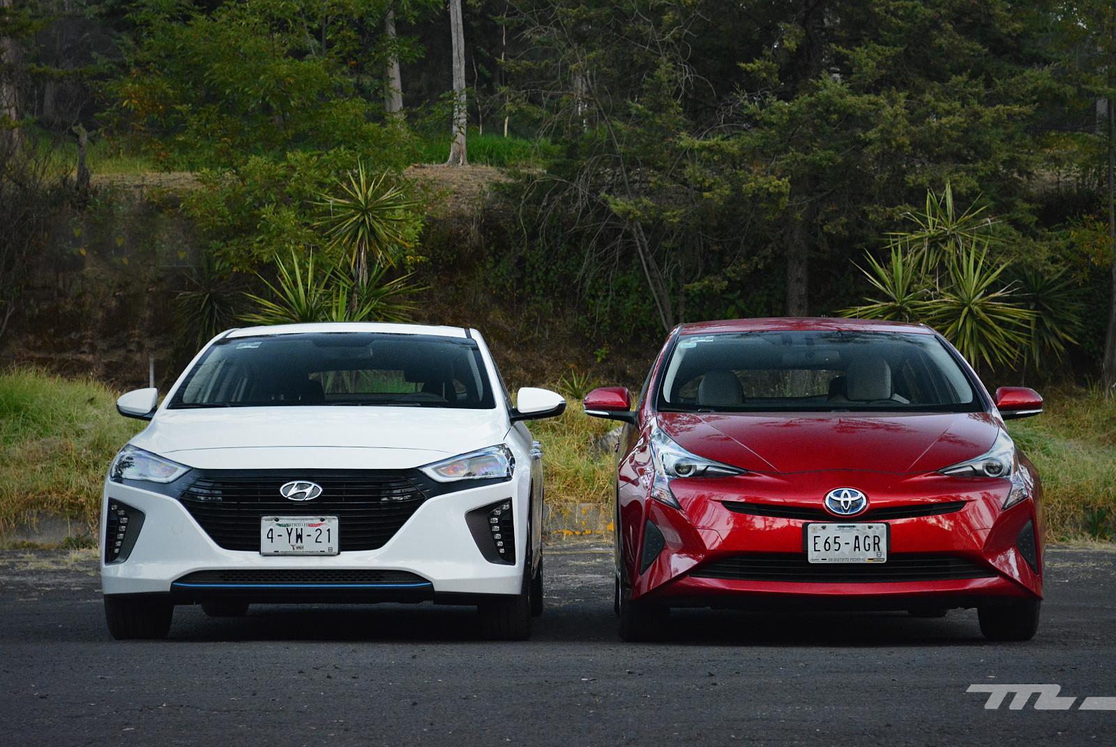 Foto de Hyundai Ioniq vs. Toyota Prius (3/22)