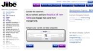 Jiibe, crea tu perfil mediante preguntas y recibirás un listado de empresas ideales