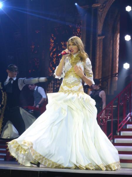 Princesa Taylor Swift concierto