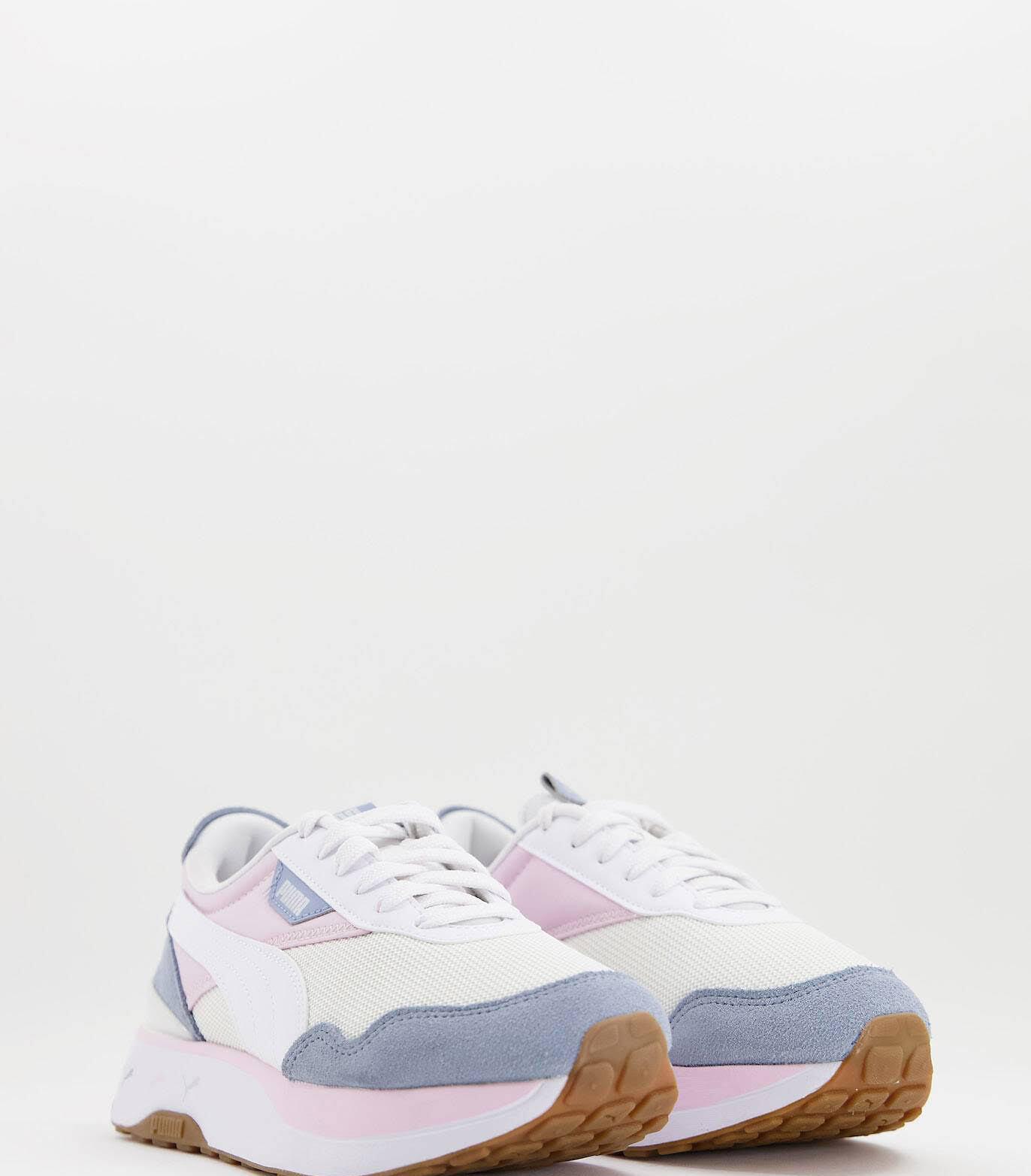 Zapatillas de deporte rosa y azul pastel Cruise Rider exclusivas en ASOS de PUMA