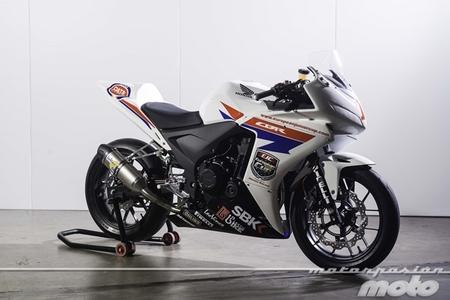 Honda CBR500R EJC: la versión de competición