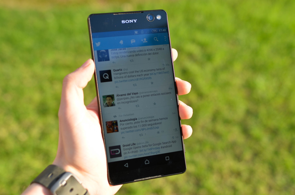 Sony Xperia C5 Dual Front