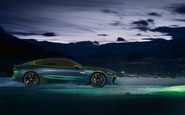 Con sólo haber sido presentado, el BMW Concept M8 Gran Coupé ya es el favorito de muchos