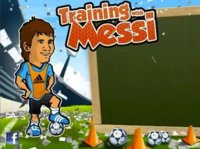 Training with Messi, el juego oficial de Leo Messi para BlackBerry