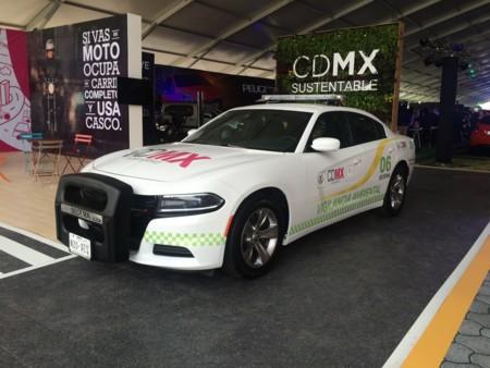 Dodge Charger. Patrulla de la CDMX