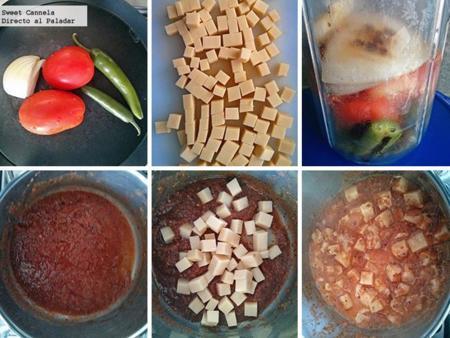 Preparacion quesadillas