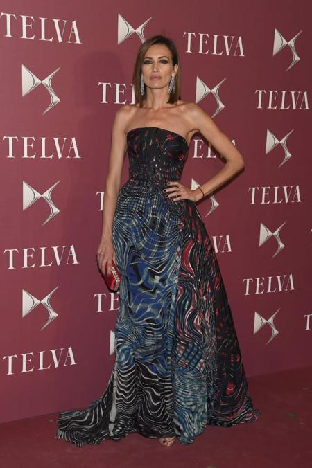 Nieves Alvarez en la entrega de premios T de Telva