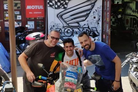 Pedro Esteban Mongol Rally 14 5