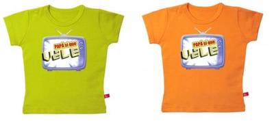 """Originales camisetas """"Papá sí que vale"""""""