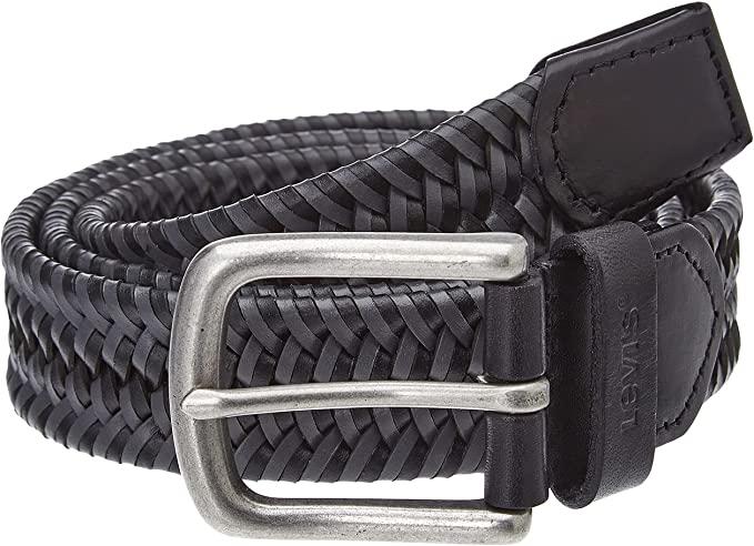 Levi's Woven Leather Stretch Belt Cinturn para Hombre