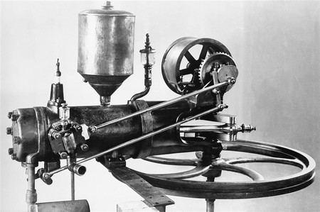 Karl Benz Two Stroke Engine