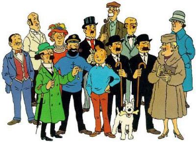 Tintin y compañía