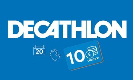 Por el Black Friday, Decathlon te regala 10 euros para tus compras en equipamiento deportivo
