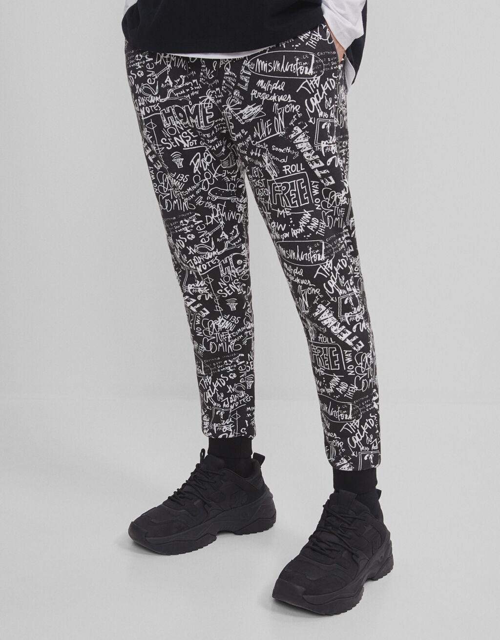 Pantalón con print