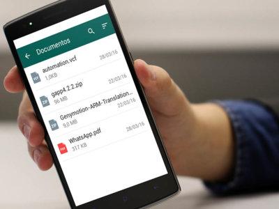 WhatsApp te dejará enviar documentos en ZIP y contactos en VCF