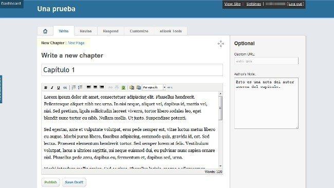 Pandamian: editor de texto