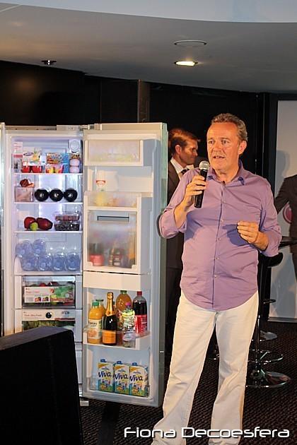 Alain Passard en un momento de la presentación