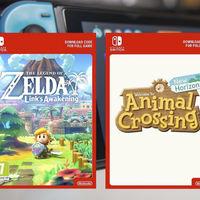 Nintendo frena la venta de códigos digitales de sus juegos en las tiendas europeas, según diversas fuentes
