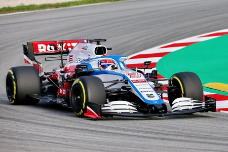 Russell Barcelona F1 2020