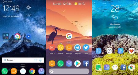 Lanzadores para Android