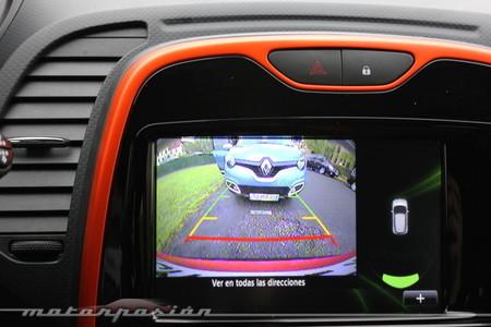 Renault Captur, cámara de visión trasera