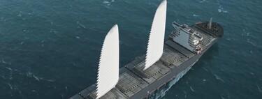 Estas velas gigantes e hinchables de Michelin prometen hasta un 20% de ahorro de combustible en los buques de carga
