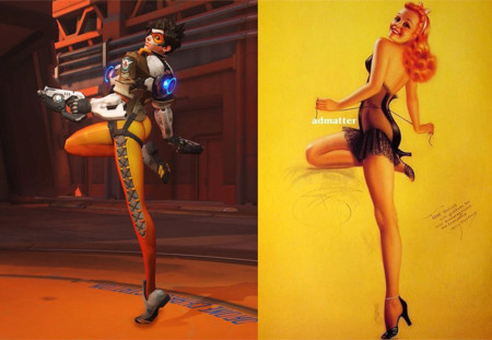 Tracer Pin Up