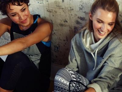 Combinaciones de moda: ¡Vamos a ser las nuevas atletas!