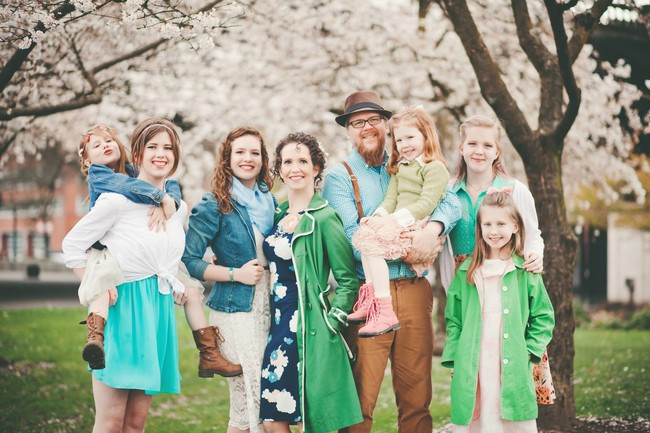 familia-seis-hijas