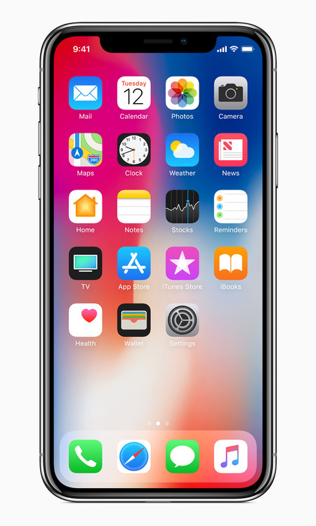 Iphonex Front Homescreen
