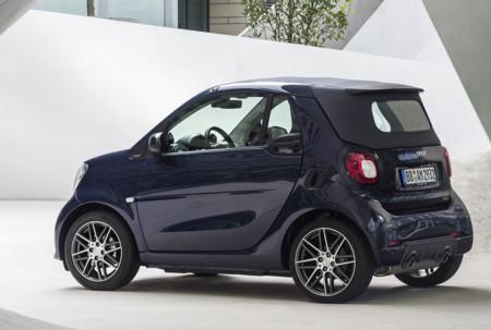smart BRABUS: el nuevo tope de gama tiene 109 CV