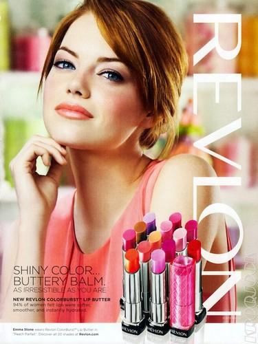 Emma Stone, hay que ver lo re-guapa que sale para Revlon