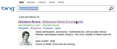 Bing comienza a ofrecer contenidos de la enciclopedia británica en sus búsquedas
