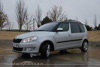 Škoda Roomster, prueba (exterior e interior)