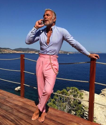 El multimillonario Gianliuca Viacchi y sus adictivos vídeos bailando, la nueva sensación de Instagram