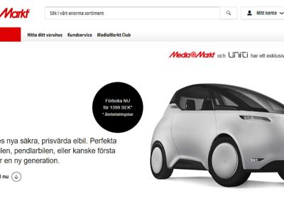 Haz todos los chistes que quieras con lo de ser tonto, pero Media Markt ya vende coches sin volante: Uniti