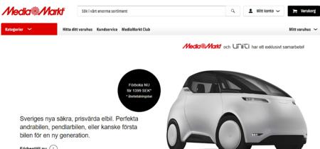 Haz todos los chistes que quieras con lo de ser tonto, pero Media Markt ya vende coches sin volante Uniti